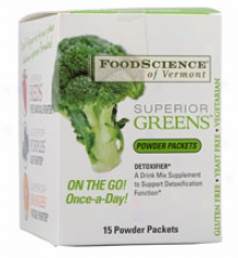 Foodscience's Superior Greens-pouch 15 Pack