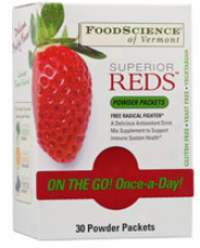 Foodscience's Superior Reds Pouch 30 Pack