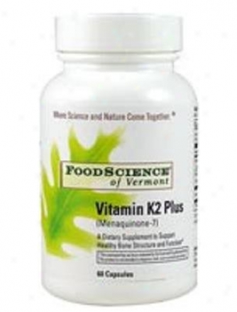 Foodscience's Vitamin K2 lPus 60caps