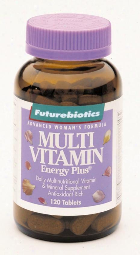 Futurebiotics Multi Vitamin Energy Plus For Women 120tabs