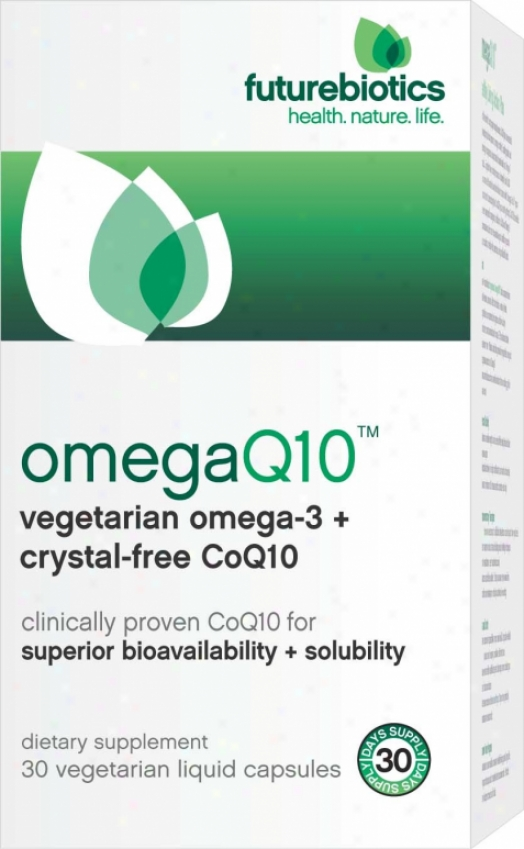 Futurebiotics Omegaq10 (omega-3 + Coq10) Liquid 30oz