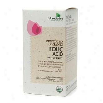 Futurebiotics Organic Folic Acid 120tabs