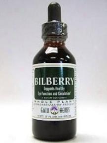 Gaia Herb's Bilberry 4oz