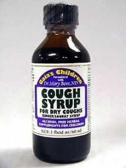 Gaia Herb's Cough Syrup For Dry Coughs 2 Oz