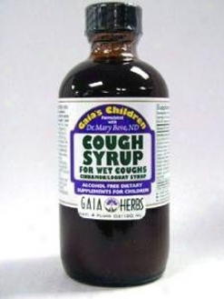 Gaia Herb's Cough Syrup For Wet Coughs 4 Oz