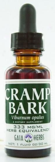 Gaia Herb's Cramp Bark 4oz