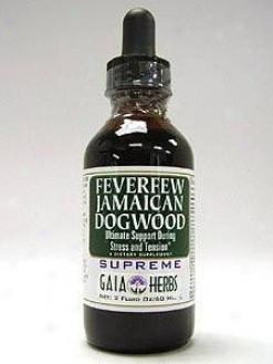Gaia Herb's Feverfew Jamaican Dogwood Supreme 2oz