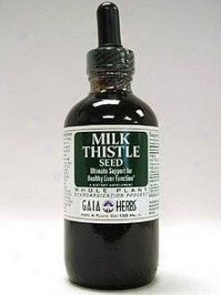 Gaia Hetb's Milk Thistle Seed 4oz