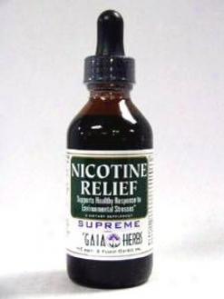 Gaia Herb's Nicotine Relief 2 Oz