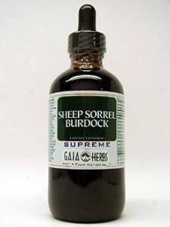 Gaia Herb's Sheep Sorrel Burdock Supreme 4oz