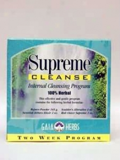 Gaia Herb's Supreme Cleanse Kit 1 Kit