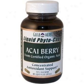 Gaia's Acai Berry 60caps
