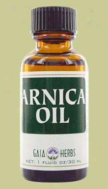 Gaia's Arnica Vigorous Flower Oil 1oz