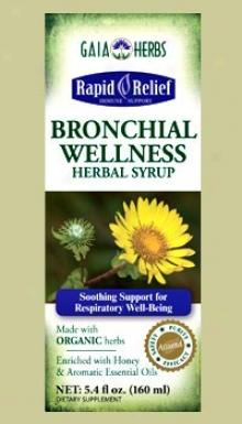 Gaia's Bronchial Wellness Herbal Syrup 5.4 Fl Oz