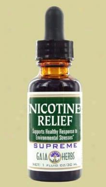 Gaia's Nicotine Relief Supreme 1oz