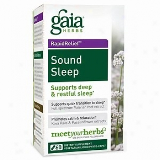 Gaia's Sound Be thoughtless Liquid Phyto-caps 60vcaps