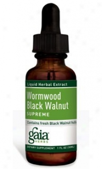 Gaia's Wormwood Black Walnut Utmost 2oz