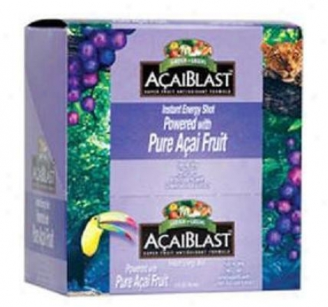 Garden Greens Acaiblast Instant Capacity of work Shot 2oz/6units