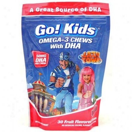 Garden Greens Lazy Place Be~ne! Kids Omega-3 With Dha 30gummies