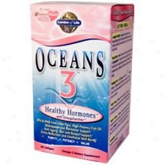Garden Of Life's Oceans 3 Healthy Hormones 90sgels