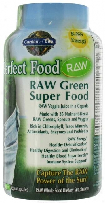 Garden Of Life's Perfect Food Raw 240caps