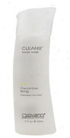 Giovanni's Cleanse Body Wash Cucumber Song 2 Fl Oz