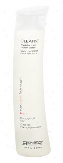 Giovanni's Cleanse Body Wash Grapefruit Sky 10.5oz