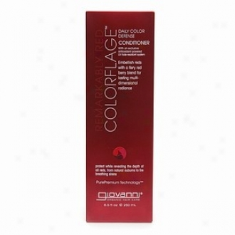 Giovanni's Conditioner Colorflage Remarkably Red 8.5oz