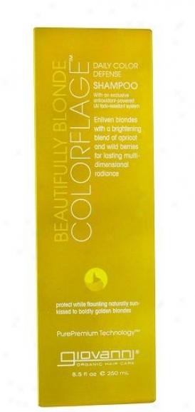 Giovanni's Shampoo Colorflage BeautifullyB londe 8.o5z