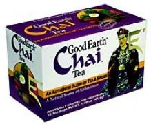 Good Earth's Tea Chai Inventive 18bags