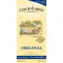 Good Earth's Tea Organic Original 25bags