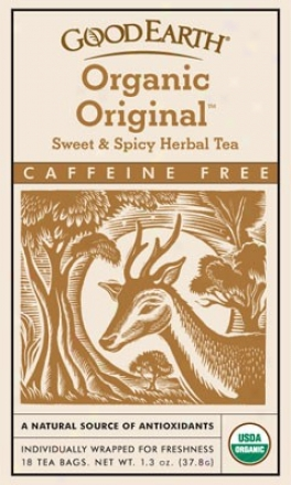 Good Earth's Tea Organic Sweet & Spicy Herbal 18bags