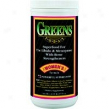 Greens Today Radical Frog, Women's Formula, Superfood For The Libido, Pms & Menopause With Bone Strengtheners 2.15 Lbs Powder