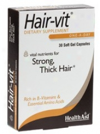 Health Aid's Hair-vitã¿â¿â¾ 30caps