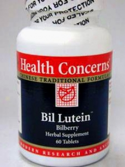 Health Concern's Bil Lutein 60 Tabs
