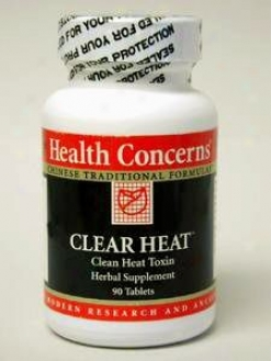 Health Concern's Clear Heat 90 Tabs