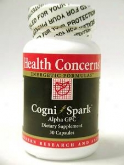 Health Concen's Cognispark 30 Caps