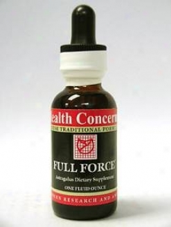 Health Concern's Full Force W/astragalus 1 Oz