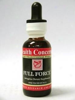 Health Concern's Full Force W/astragalus 1 Oz