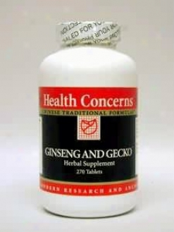 Health Concern's Ginseng & Gecko 270 Tabs