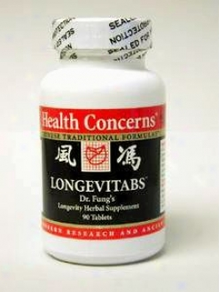 Health Concern's Longevitabs 90 Tabs