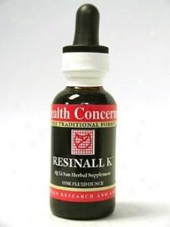 Health Concern's Resinall K 1 Oz