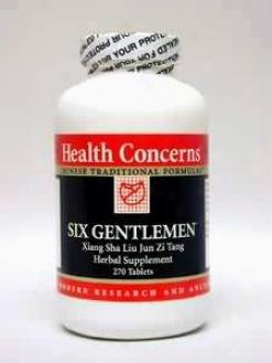 Health Concrn's Six Gentlemen 270 Tabs