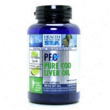 Health From The Sea's Pfo Pure Cod Liver Oil 90sg
