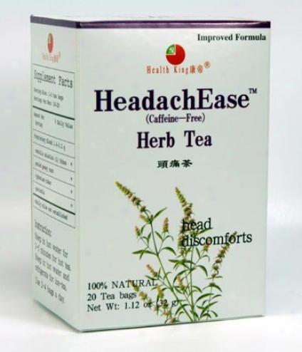 Health King's Headachease 20 Tea Bags