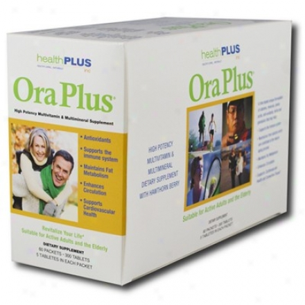 Health Plus Ora Plus Multivitamin & Multimineral 300tabs