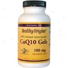 Healthhy Origin's Coq10 100mg 150sgels