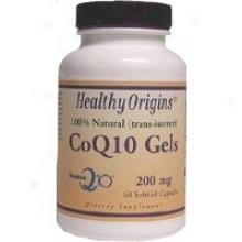 Healthy Origin's Coq10 200mg 60sgels