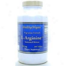 Healthy Origin's L-arginine-sr 350 Mg 360 Tab