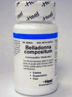 Heel's Belladonna Compositum 100 Tabs